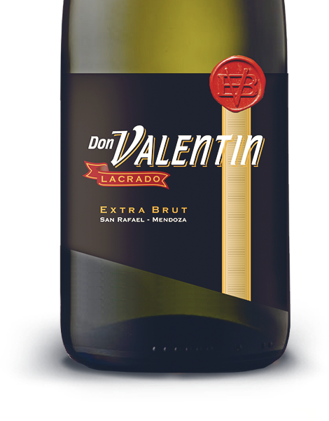 Don Valentín Lacrado Extra Brut bottle